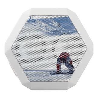 Snowboard White Boombot Rex Bluetooth Speaker