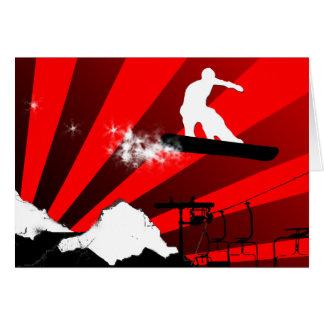 snowboard. card
