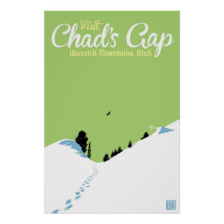 Snowboard Chad's Gap Poster