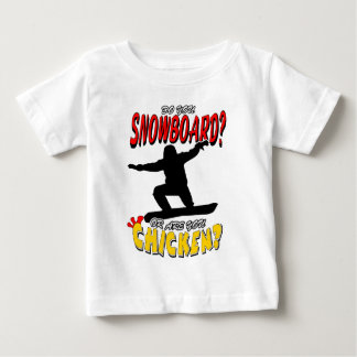 SNOWBOARD CHICKEN 1 BABY T-Shirt