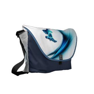 Snowboard Design Messenger Bag
