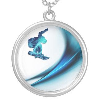 Snowboard Design Necklace
