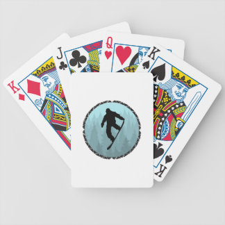 SNOWBOARD DREAMER BICYCLE PLAYING CARDS