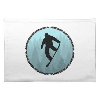 SNOWBOARD DREAMER PLACEMAT