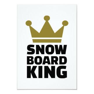Snowboard king champion invite