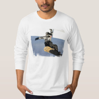 Snowboard Launch Men's Long Sleeve T-Shirt