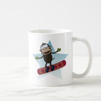 Snowboard Monkey Mug