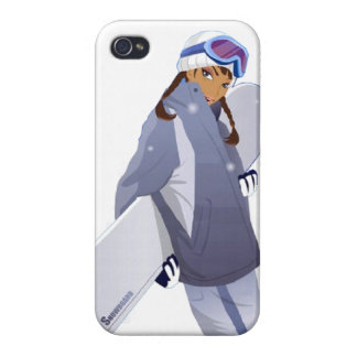 Snowboard Queen - iPhone 4 Case