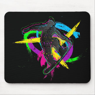Snowboard Trick Mouse Pad