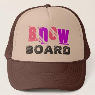 SnowBoard Trucker Hat