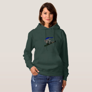 Snowboard Women's Basic Hooded Sweatshirt