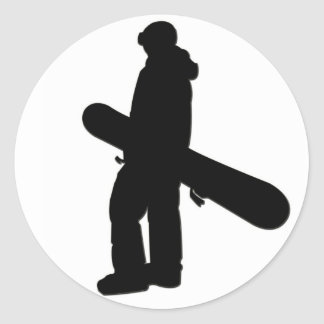 Snowboarder 2 Sticker