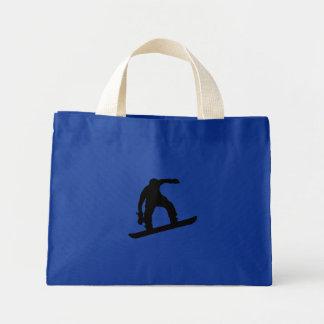 Snowboarder_4 Mini Tote Bag