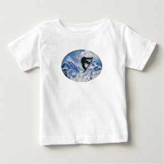 Snowboarder In Flight Baby T-Shirt