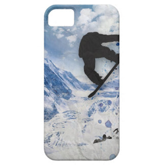 Snowboarder In Flight Case For The iPhone 5
