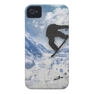 Snowboarder In Flight Case-Mate iPhone 4 Cases