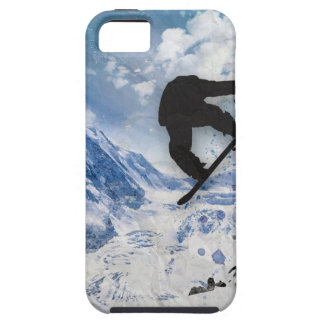 Snowboarder In Flight iPhone 5 Cover