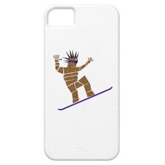 Snowboarder iPhone 5 Case