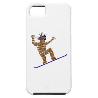 Snowboarder iPhone 5 Cover