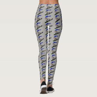 Snowboarder Leggings