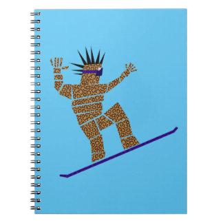 Snowboarder Notebooks