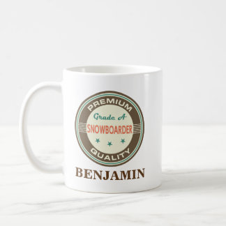 Snowboarder Personalized Office Mug Gift
