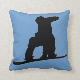 Snowboarder Pillow