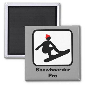 Snowboarder Pro Magnet