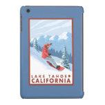Snowboarder Scene - Lake Tahoe, California iPad Mini Covers