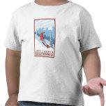 Snowboarder Scene - Lake Tahoe, California T Shirts