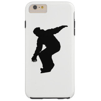 Snowboarder Silhouette Tough iPhone 6 Plus Case