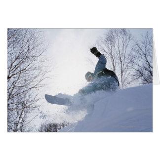 Snowboarding 13 card