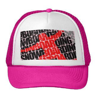 Snowboarding #1 (blk) cap