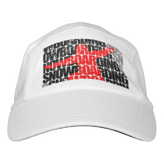 Snowboarding #1 (blk) hat