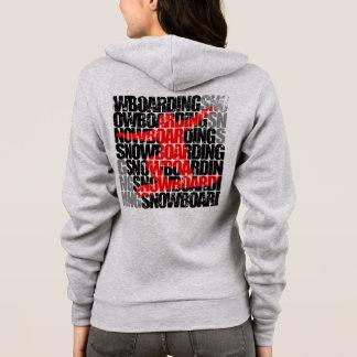 Snowboarding #1 (blk) hoodie