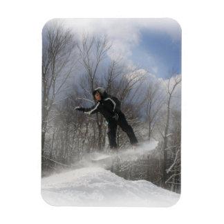 Snowboarding 360 Premium Magnet