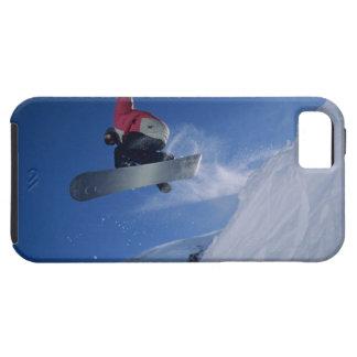 Snowboarding at Snowbird Resort, Utah (MR) iPhone 5 Case