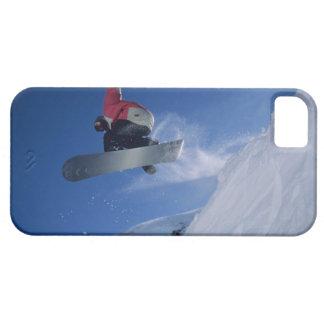 Snowboarding at Snowbird Resort, Utah (MR) iPhone 5 Cover