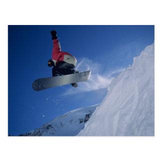 Snowboarding at Snowbird Resort, Utah (MR) Postcard