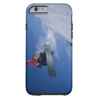 Snowboarding at Snowbird Resort, Utah (MR) Tough iPhone 6 Case