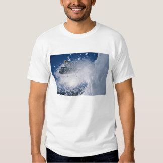 Snowboarding at Snowbird Resort, Wasatch Tee Shirt