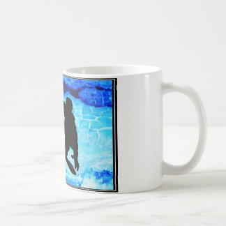 Snowboarding Blues Coffee Mug