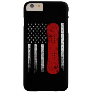 Snowboarding Flag Barely There iPhone 6 Plus Case