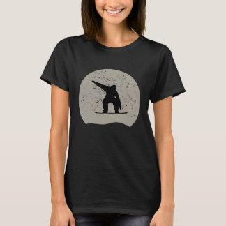 Snowboarding Full Moon T-Shirt