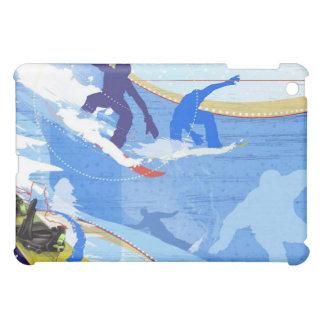 Snowboarding fun case for the iPad mini