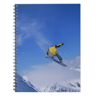 Snowboarding in Grizzly Gulch, Little Cottonwood Spiral Notebook