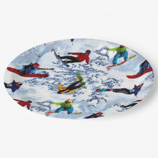 Snowboarding Isn't Everything Paper Plate