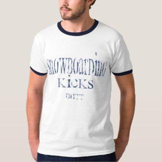 Snowboarding Kicks Butt II T-shirts