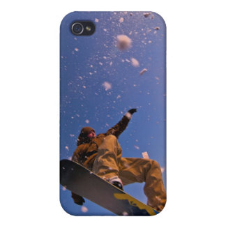 Snowboarding Maine iPhone 4/4S Cases