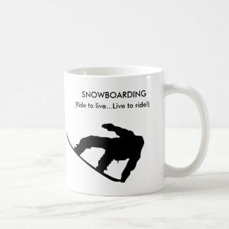 snowboarding mug!